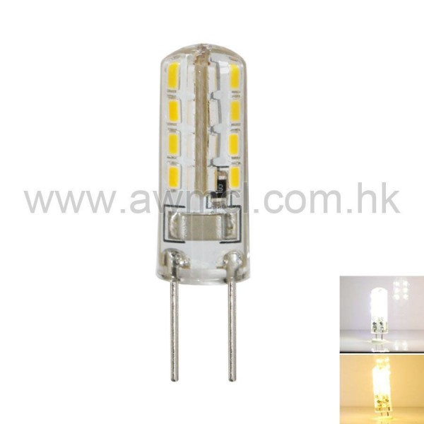 LED Corn Bulb GU5.3 1.5W 32 PCS 3014 SMD AC120V or AC230V Light 6Pack