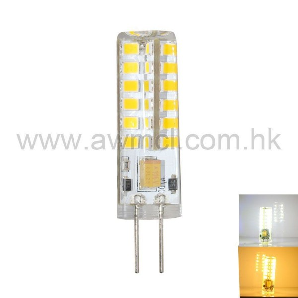 LED Bulb GY6.35 4W 48 PCS 2835 SMD AC DC 12V Light 6Pack
