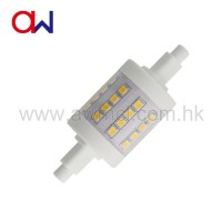 AC 110V 220V R7S LED 5w 500lm superbright leds